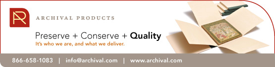 Archival Products Directory Ad