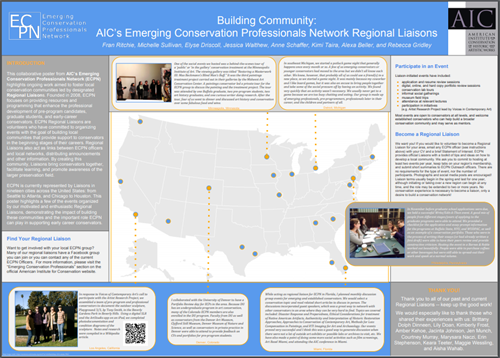 Building Community ECPN Poster 2016