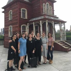 ECPN NYC Regional Liaison Visit to the Met Roof (Image Courtesy of Kasey Hamilton)