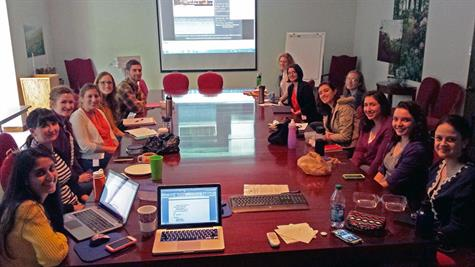 ECPN Webinar Viewing Gathering at WUDPAC 2014